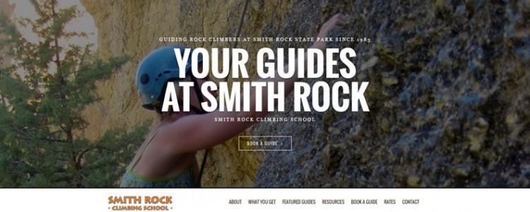 Smith Rock Climbing Guides home